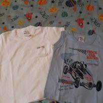 Camisetas regatas (2) - 18 a 24 meses - bula bula