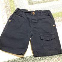 Shorts brim azul - 24 a 36 meses - Baby Club