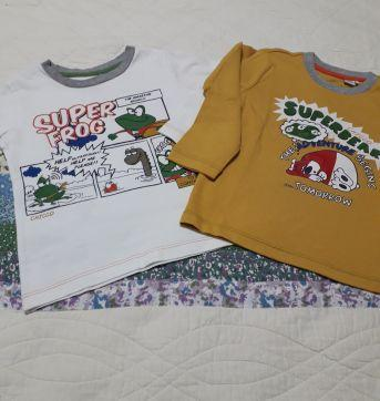 Combo 2 camisetas Chicco - 18 a 24 meses - Chicco