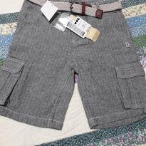 Shorts com etiqueta novo - 6 anos - PUC