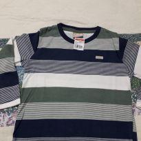 Camiseta  Nova listradinha - 18 a 24 meses - Milon