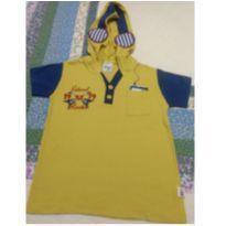 camiseta NOVA com capuz - 18 a 24 meses - Elian