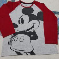Camiseta Mickey - 4 anos - Disney