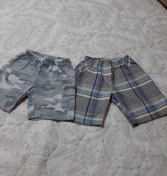 Combo shorts - 24 a 36 meses - Brandili e várias