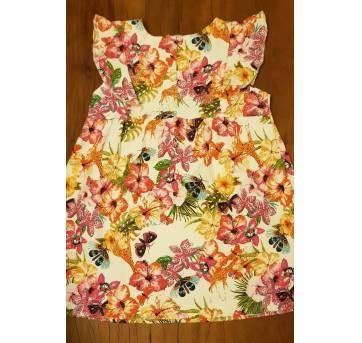 Vestido borboletas - Zara - 18 a 24 meses - Zara