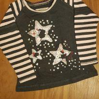 Camiseta estrelinhas Levi`s - 18 meses - Levi`s