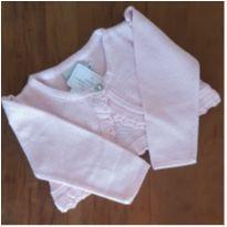 Bolero rosa bebê Noruega - 6 a 9 meses - Noruega Baby