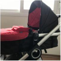 Carrinho Urban + Color Pack Chicco Vermelho e adaptador para bebê conforto -  - Chicco