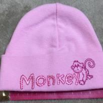 Touca Monkey Pink Prematuro até 2 kgs - Prematuro - Importada