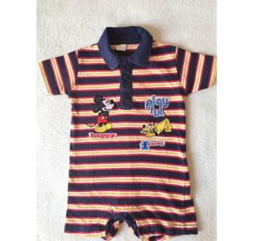 Macaquinho Mickey - Tam 9m - 9 a 12 meses - Disney baby