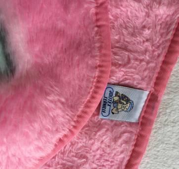 Cobertor Dupla face Infantil /Baby Menina Jolitex - Sem faixa etaria - jolitex