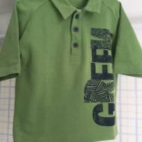 Camiseta Polo Green tam. 2 - 18 a 24 meses - Green