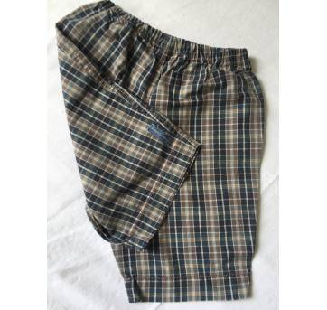 Short Xadrez Green TAM 12m - 12 a 18 meses - Green