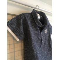 Camiseta Polo de Malha - Ano Zero Tam 2/3