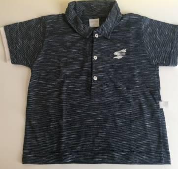 Camiseta Polo de Malha - Ano Zero Tam 2/3 - 24 a 36 meses - Ano Zero