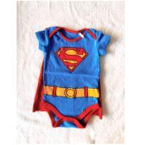 Body super man - 6 a 9 meses - DC Comics e TM & DC COMICS