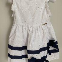 Vestido laise bebê - 1 ano - Momi