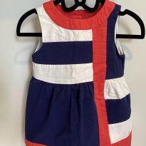 Vestido Tommy Hilfiger - 18 meses - Tommy Hilfiger