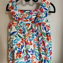 Vestido Flores Zara - 2 anos - Zara