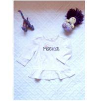 Blusa Gymboree Baby Arco Íris com asinhas - 0 a 3 meses - Gymboree