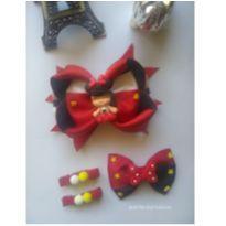 Laços Minnie vermelha -  - Artesanal