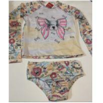 Biquíni blusa com proteção 50+ - 7 anos - Quimby