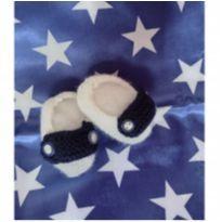 Sapatinho de tricô para bebê estilo social - Recém Nascido - Não informada