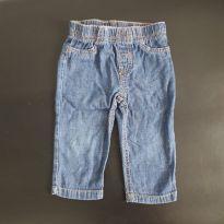 Calça jeans molinho - 12 a 18 meses - Carter`s