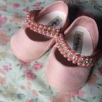 Sapatinho rosa princesa - 14 - Fun Shoes e Fun Baby