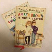 Kit 2 Livros Infantis em Inglês Clara Rosa Amber Brown - Paula Danziger - Sem faixa etaria - Scholastic