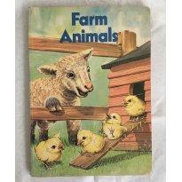 Livro Infantil em Inglês ilustrado Farm Animals - Sem faixa etaria - Sem marca