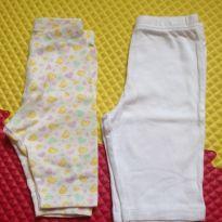 Kit calças em malha - 0 a 3 meses - Gerber e Teddy Boom