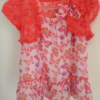Vestido levinho importado com bolero - 18 a 24 meses - Healthtex