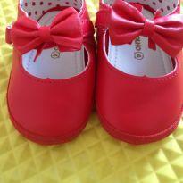Lindo sapatinho vermelho boneca - 18 - Pimpolho