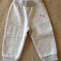 Conjunto Moleton Puma Original Menina muito quentinho e lindo! - 9 a 12 meses - Puma