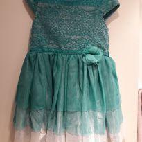 Vestido de festa Tiffany - 5 anos - Nannete Girl e Nannette Baby - USA