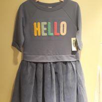 Vestido de inverno HELLO - 5 anos - Old Navy (USA)