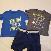 Camisetas + Shorts Carter`s