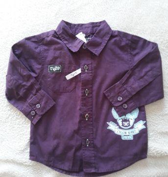 Camisa Roxa Tigor T.Tigre - 1 ano - Tigor T.  Tigre