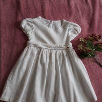 Vestido Branco - 3 anos - Um mais um