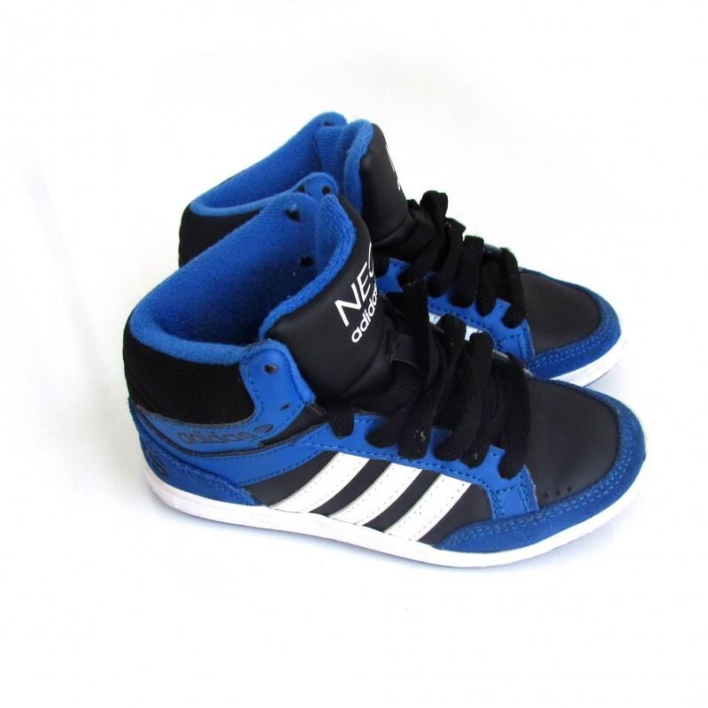 39e7b255bf1 Tênis Adidas cano alto 27 no Ficou Pequeno - Desapegos de Sapatos ...
