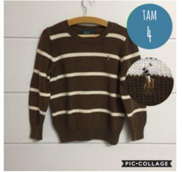 Sweater Ralph Lauren - 4 anos - Ralph Lauren