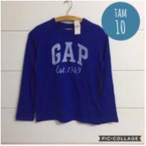 Camiseta Gap nova com etiqueta - 10 anos - GAP