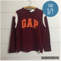 Camiseta Gap nova com etiqueta - 8 anos - GAP