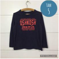 Camiseta Oshkosh - 5 anos - OshKosh