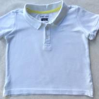 Camiseta Polo Basic - 09 a 12 meses - 9 a 12 meses - Basic + Baby