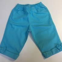 Bermuda Azul - tamanho 3 - 3 anos - Um mais um