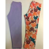 Kit 2 calças coton - tamanho 2 - 2 anos - Momi e varios