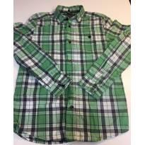 Camisa Xadrez Verde Zara - tamanho 11-12 amos - 11 anos - Zara