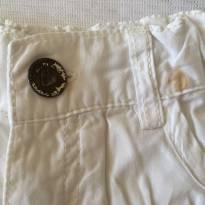 Shorts Branco - tam 01-02 anos - 12 a 18 meses - Poim, Cherokee e Up Baby